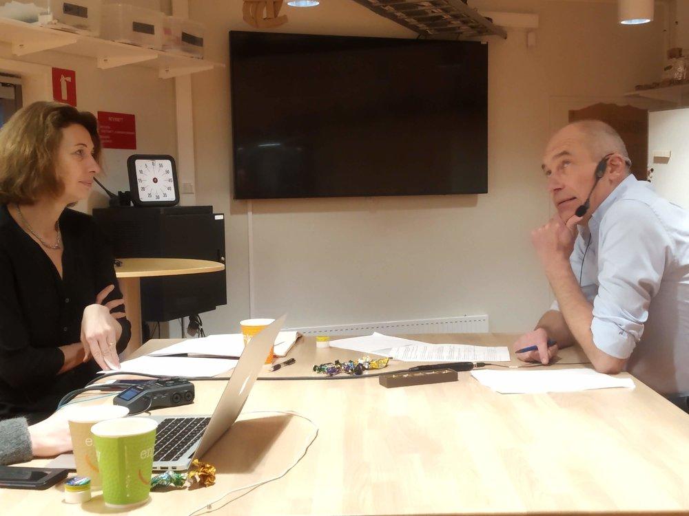 Logistikk for en bedre verden: Bjørn Jæger, professors i logistikk ved Høgskolen i Molde, snakket om hvordan logstikk og deleøkonomi kan ses opp mot FNs bærekraftsmål.