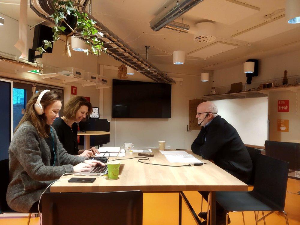 AR, VR og livslang læring: Arild Hoksnes, innovasjonsleder i SHM Solutions pratet om to-og tredimensjonal læring ved hjelp av ny teknologi.