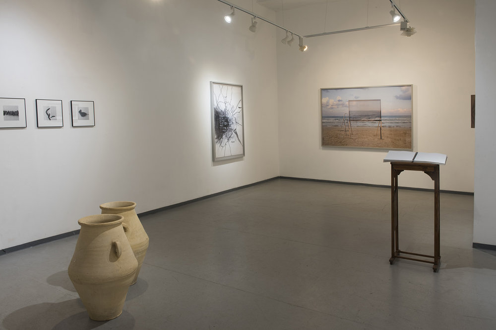 """""""Blindfolded Landscapes"""" - a duo exhibition with  Dafna Shalom , P8 Contemporary Art Gallery, Tel-Aviv, Israel  Curator: Or Tshuva"""