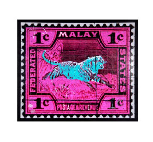 Malay Tiger - pink