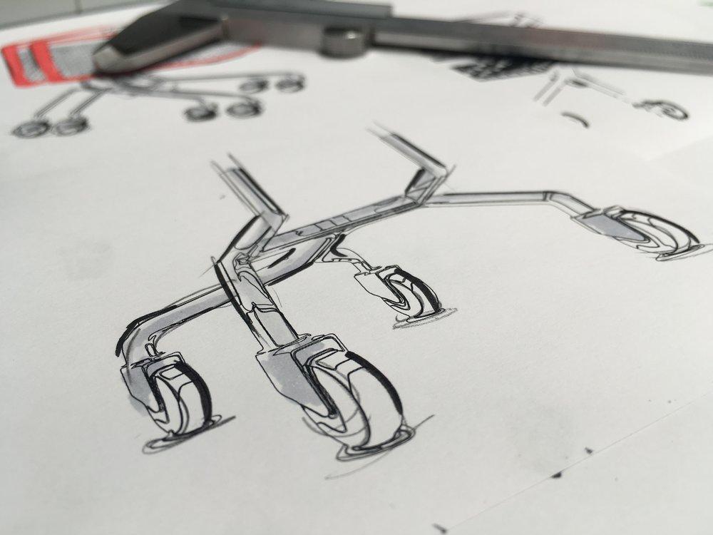 Proyecto de diseño de un carro de la compra para Bravo.