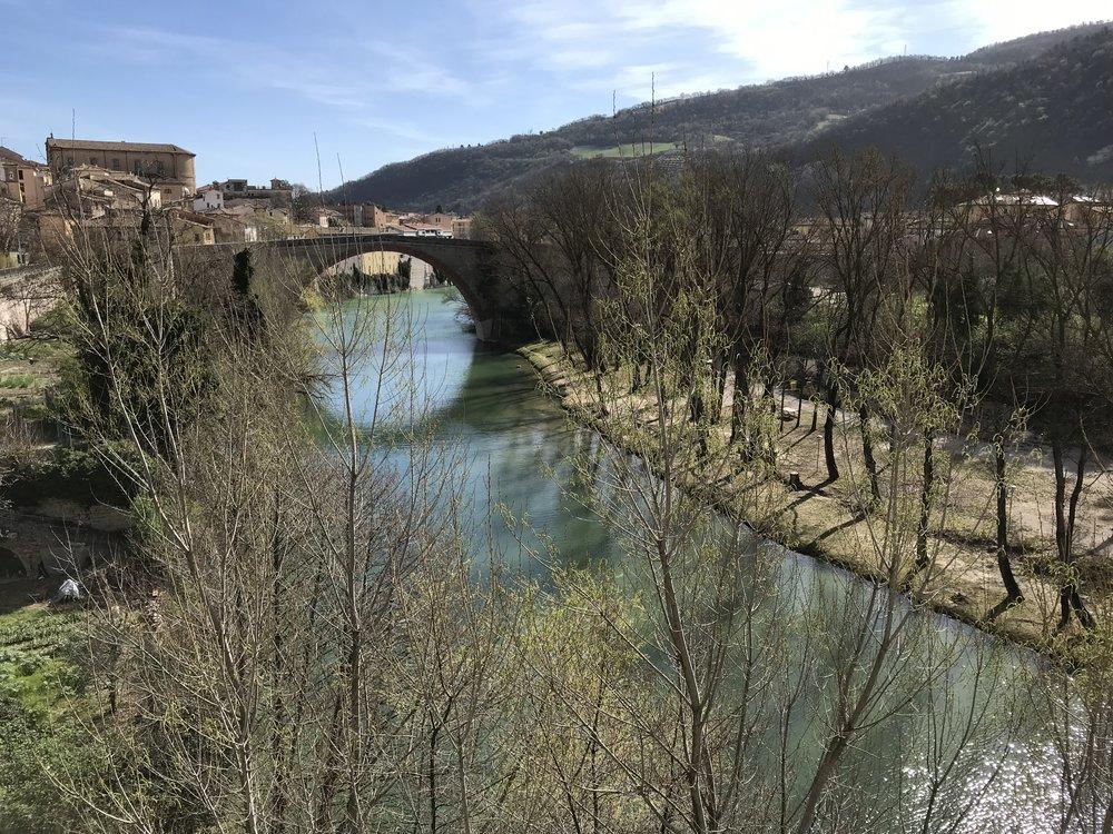 Fossombrone, Marche. Half decent.
