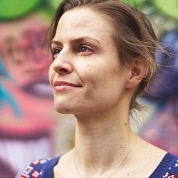 Sonja Dänzer - Fondatrice et directrice The Green Fairy - Organic Vegan Ice Cream
