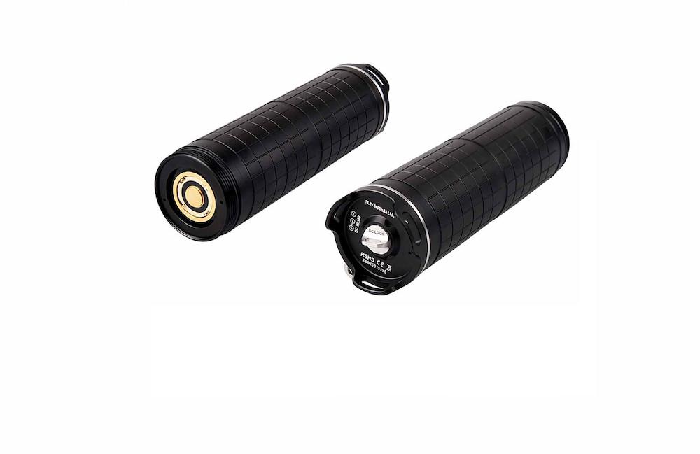 6 800mAh - La batterie rechargeable Acebeam X65BP intègre un circuit de protection (surcharges, court-circuits, surchauffe)14.4V6 800mAh