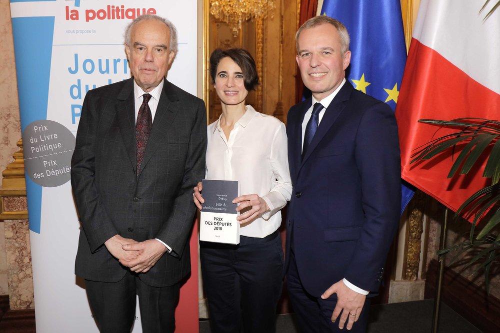 Frederic Mitterrand Francois de Rugy et Laurence Debray  03.JPG
