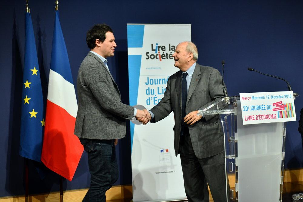 Lauréats & Finalistes - 20e journée du livre d'économie