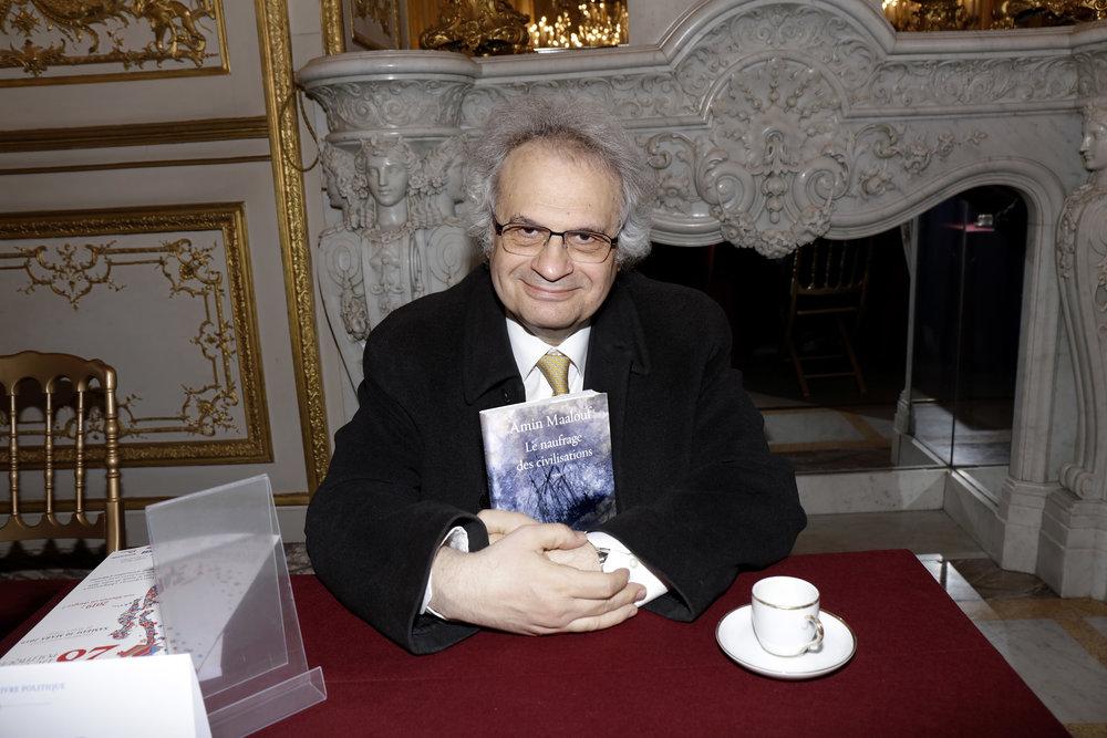 Amin Maalouf - Crédits Eric Fougère.JPG
