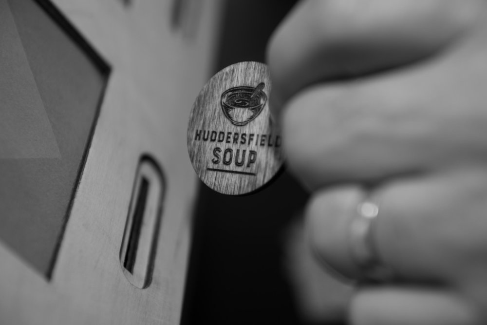 Apply to pitch at Huddersfield SOUP -
