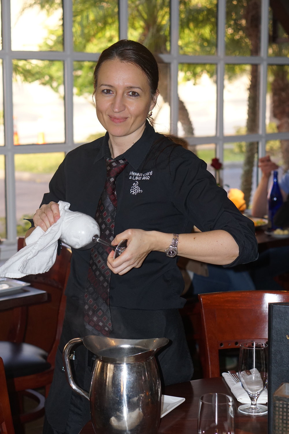 In 2007 Tunde joined - the Vienna cafe team and has since became a favorite server amongst our long time customers. She joined the team in hopes to expand her customer service skills and has since found a passion for food and the different cultures infused in our menu.