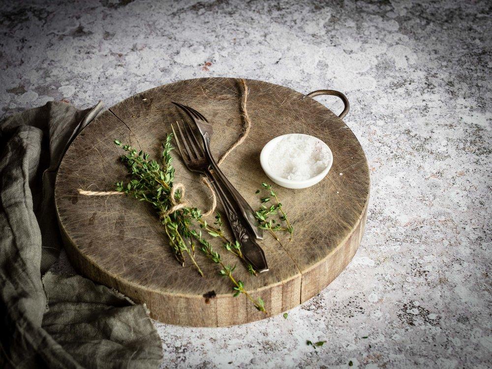 Lammkotelett Lamm Thymian Foodstyling
