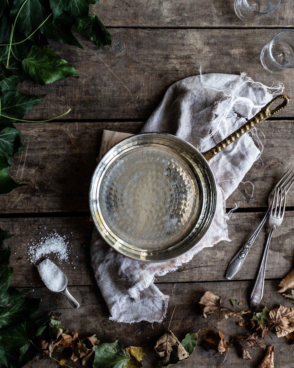 Lamm Roh Thymian Foodstyling