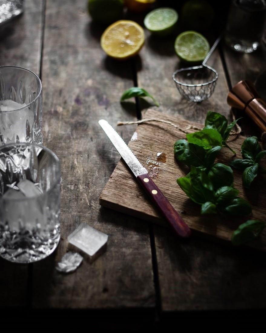 Limetten Gin