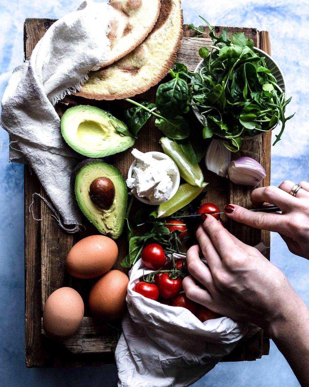 Gemüsewrap