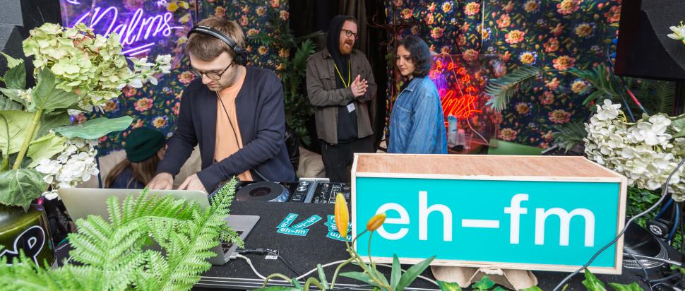 EH-FM DJs in Loft Bar All Night Long - Edinburgh's Independent Radio Station