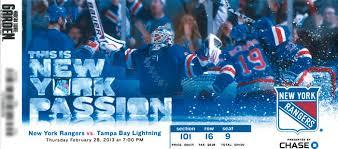 Boka biljetter till New York Rangers eller något annat lag i NHL hos Supreme Travel
