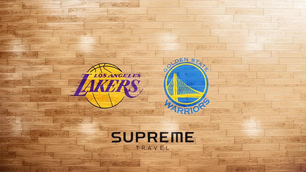 DAG 3 - LOS ANGELES LAKERS MOT GOLDEN STATE WARRIORS - Tänk att få uppleva LeBron James och Steph Curry i en och samma match.Vi är naturligtvis på plats vid Staples Center i god tid innan match för att insupa atmosfären både utanför arenan och inne. Golden State Warriors är regerande mästare och det blir väldigt intressant att se om Lakers kan utmana.