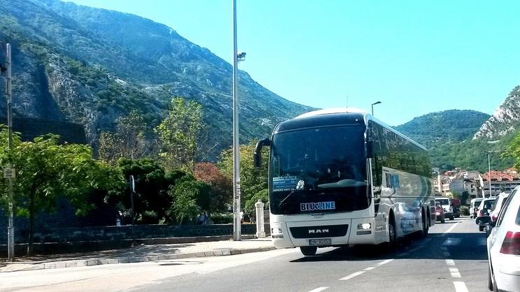 Transfer från hotellet - Bussen lämnar hotellet kl 08.00 och vi räknar med att det tar 2,5 till 3 timmar till Dubrovnik.