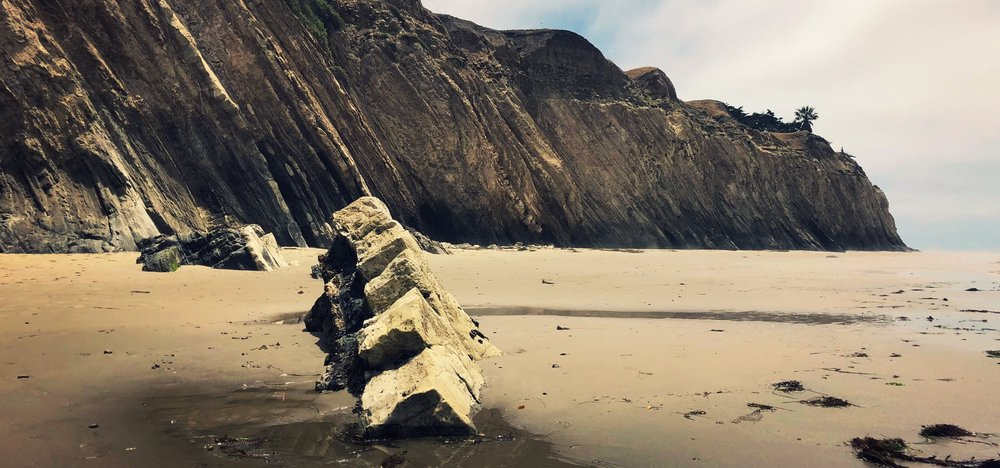 Monterey Formation, Naples Beach