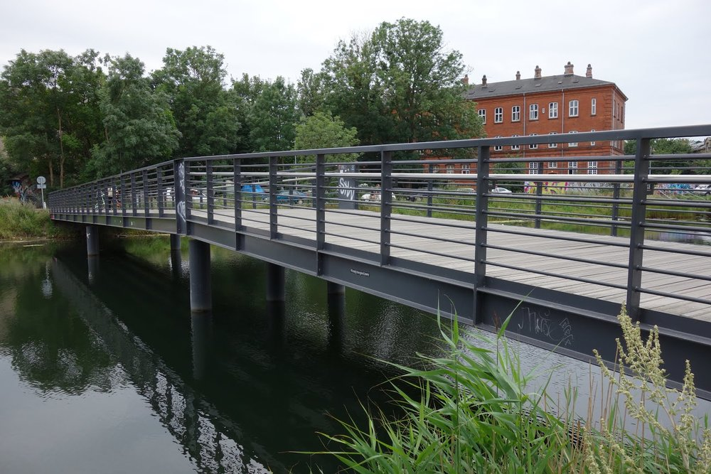 Laboratoriegravbroen in Christiania.