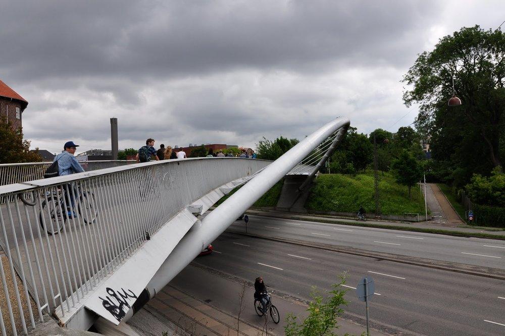 Åbuen - crossing Åboulevarden