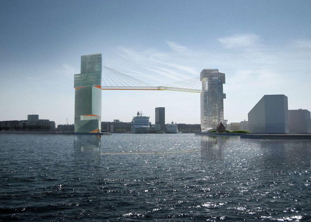 The proposed Copenhagen Gate