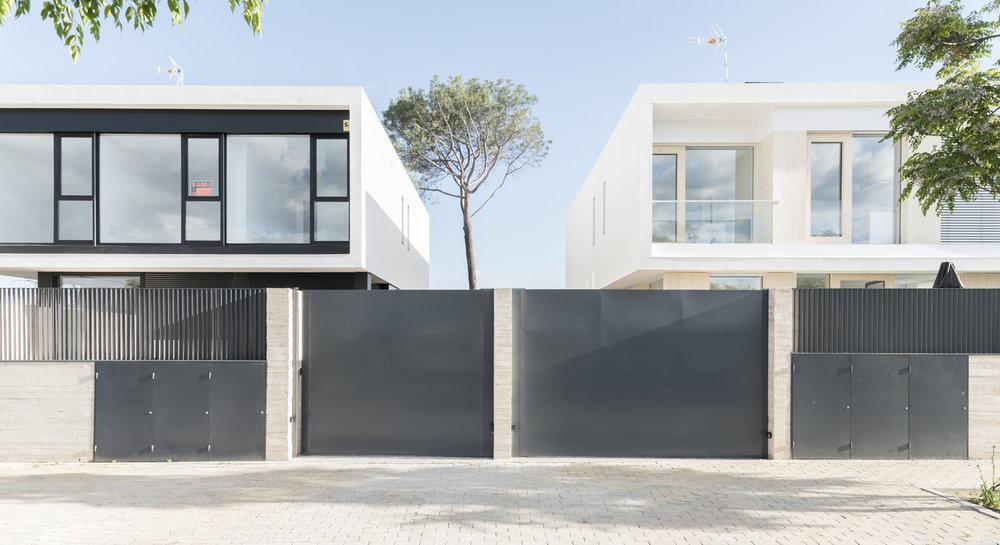 Casas Hermanas. Vivienda I en Pozuelo de Alarcón -  Arenas Basabe Palacios