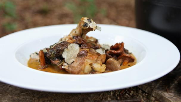 James Martin: Chicken with Forest-Foraged Truffles