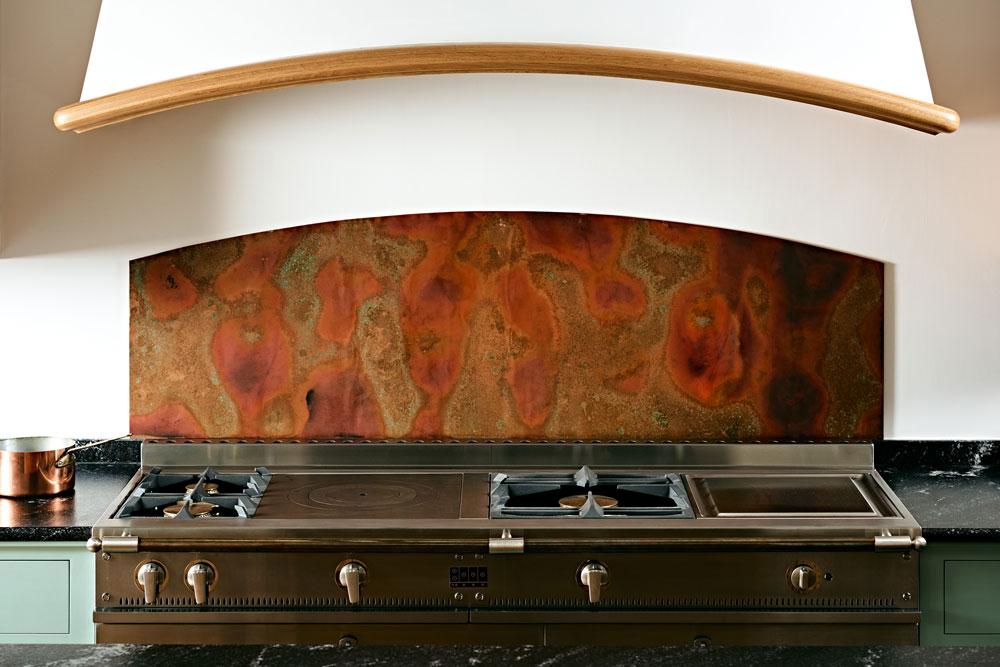 Figura Showroom - La Cornue with Teppanyaki cooking plate