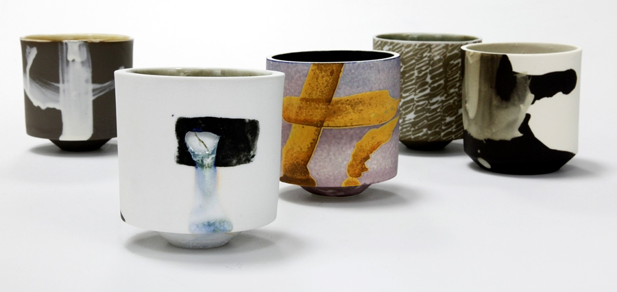 Hannah Tounsend: Porcelain Beakers