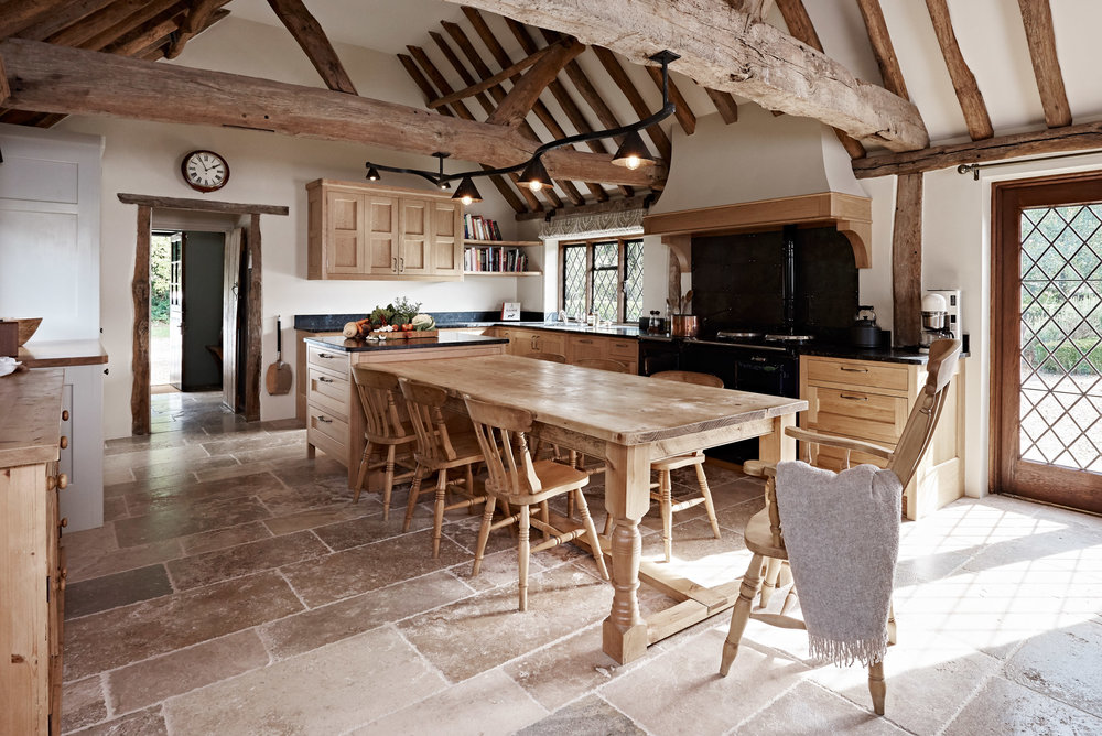 Oak, Old and New -