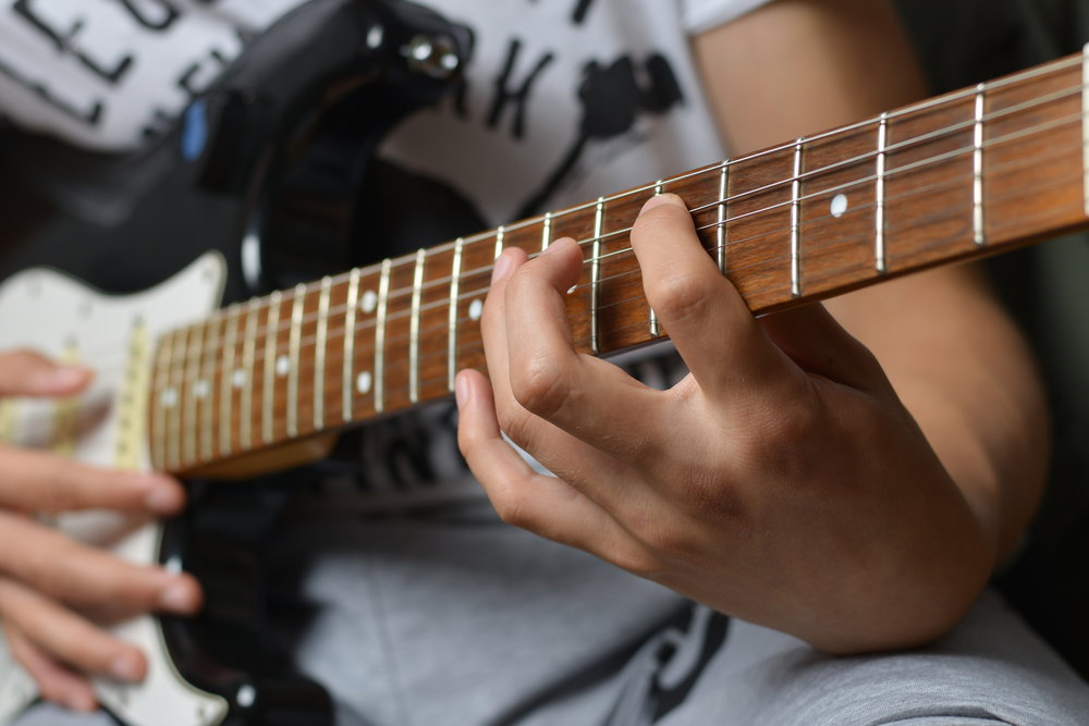 Electric Guitar Lessons -