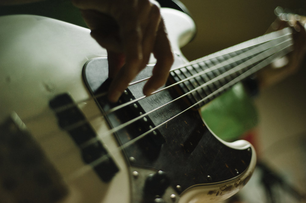 Bass Guitar Lessons -