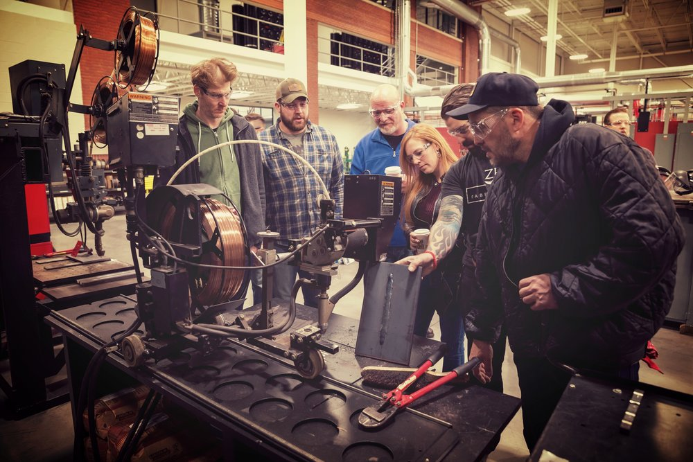 choose the path that's right for you - Spring Make's agenda is built around four general areas: metalworking, woodworking, mixed media, and creative/technology. As an attendee, you are free to dive deep into one or two areas or spend your day exploring all the tracks. We're adding to the program daily, so make sure to sign-up to get updates. Check out what we have to offer so far!