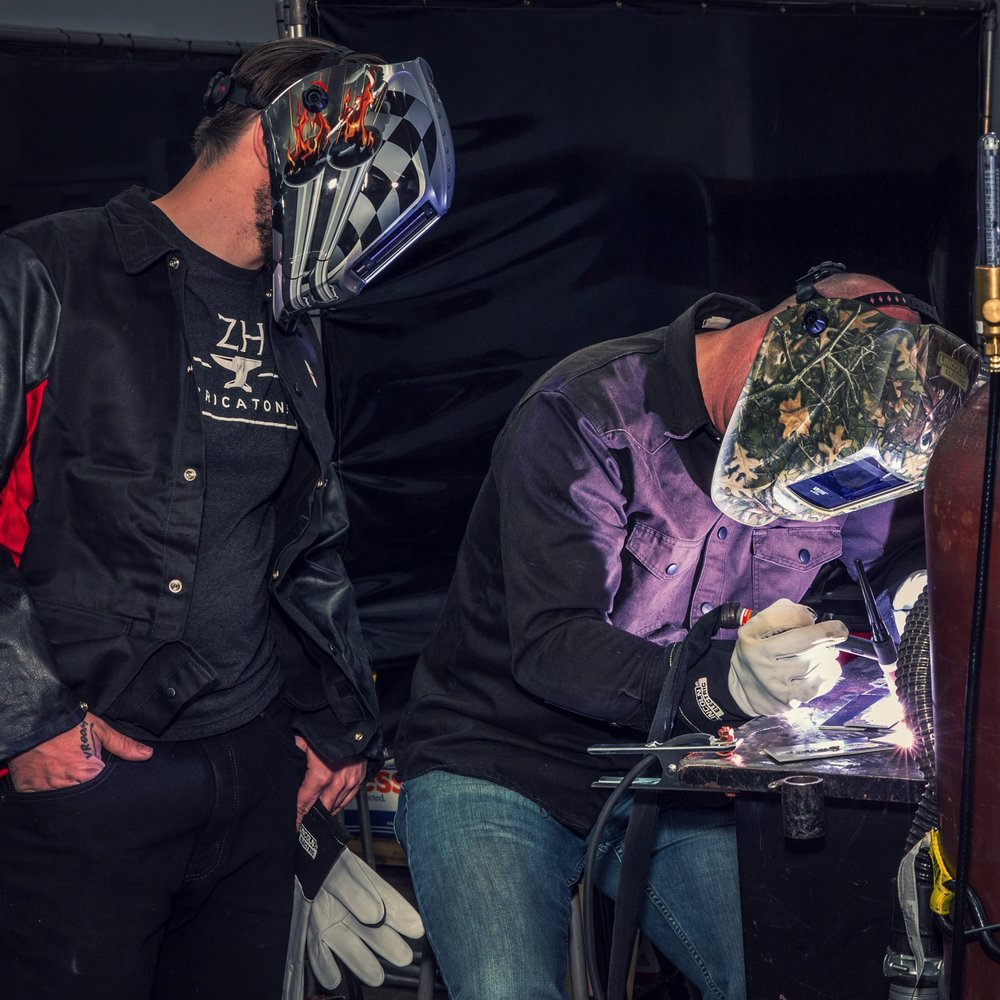 Welding Crash Course - INSTRUCTORS: MARK PROSSER & BRYAN FULLERIn this day-long, intensive work shop that takes place before the main Spring Make event, you'll take your knowledge of welding from zero to hero, aided by some of the best instructors in the field. From safety training to welding in a virtual reality environment, you'll gradually learn basic welding processes, including Stick, Flux core, MIG, and TIG. Taught by Mark Prosser and Bryan Fuller. Additional fee applies.