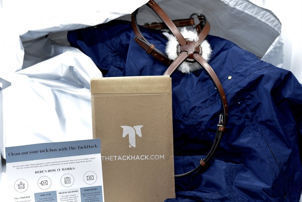 Clean Out Your Tack Box.Make Hay. - Our consignment kits make selling your saddle, tack and riding apparel a snap.