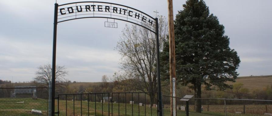 Courter-Richey Cemetery in Doniphan City