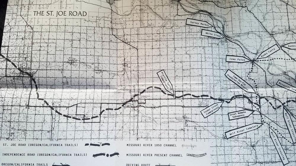 St. Joe Road Map History of St. Joseph Missouri part 4.jpg