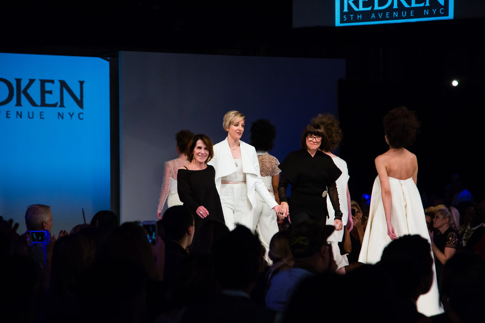 Redken & Nuorikko designers walk the runway after the Finale