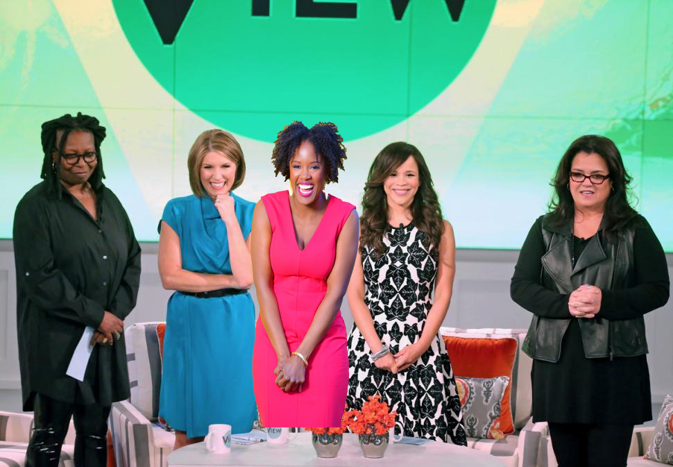 Akilah on The View 2