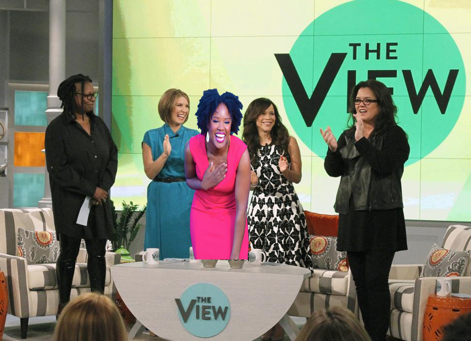 Akilah on The View 3