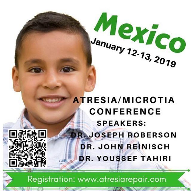 En Enero vienen a México @atresiarepair @microtia_doctor @dr_microtia_cranioplasty a platicar de Microtia y Atresia. Informes: www.atresiarepair.com  Con tu ayuda, Andrés tendrá 3 días de operado para ese entonces. 💙🎧 #elamorseescucha #microtia #atresia #microtiaatresia #gofundme