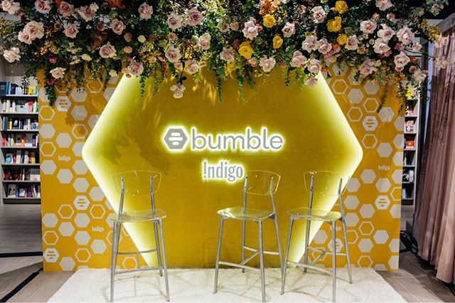 all about that #BumbleHiveVancouver @bumble_canada 🐝