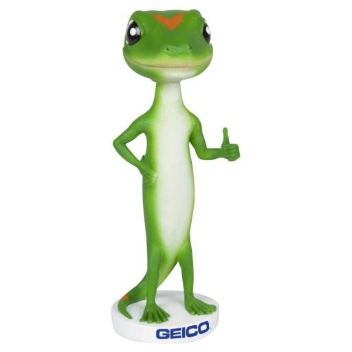 Geico's Genius Custom Bobble Head Merch  Credit:  Geico Store