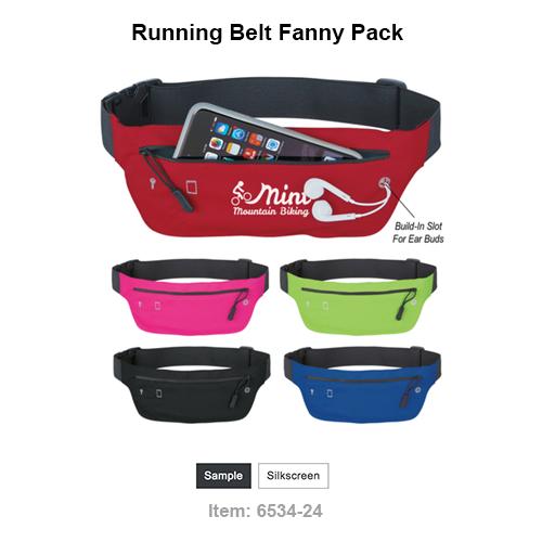 "Large Front Zippered Pocket | Inside Key Pocket | Built-In Slot For Earbuds | Adjustable Elastic Waist Strap | 41"" Maximum Belt Size | Spot Clean/Air Dry"