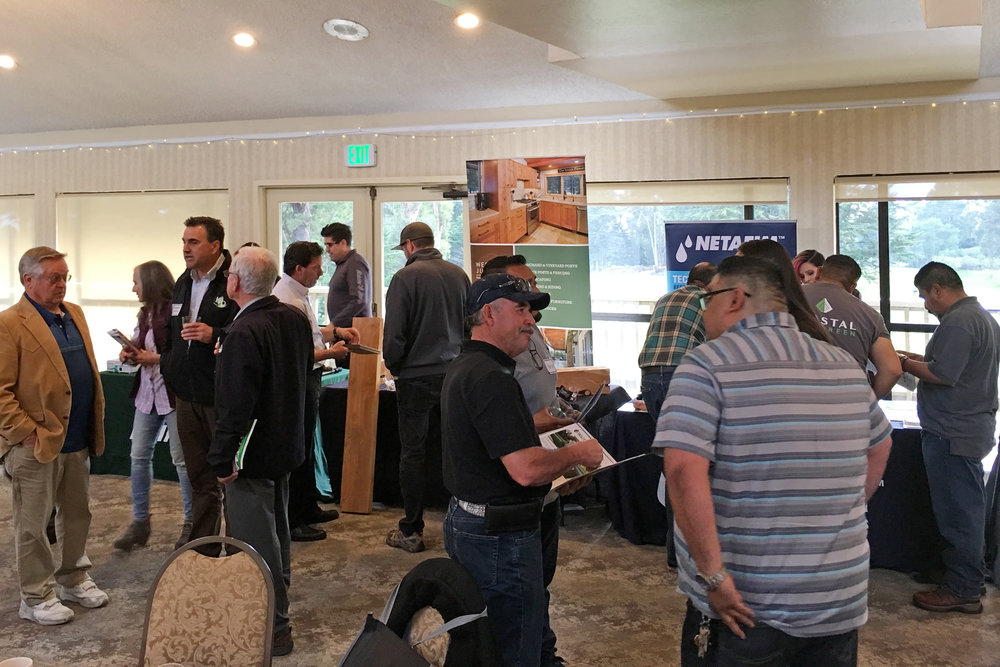 Good business connections and new friendships happened at Suppliers Night.