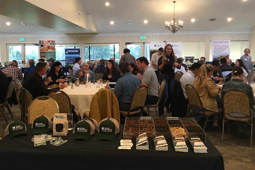 A well-organized and well-attended event, with a  delicious meal was organized by the very capable Katia Velasquez, Central Coast's own event coordinator.