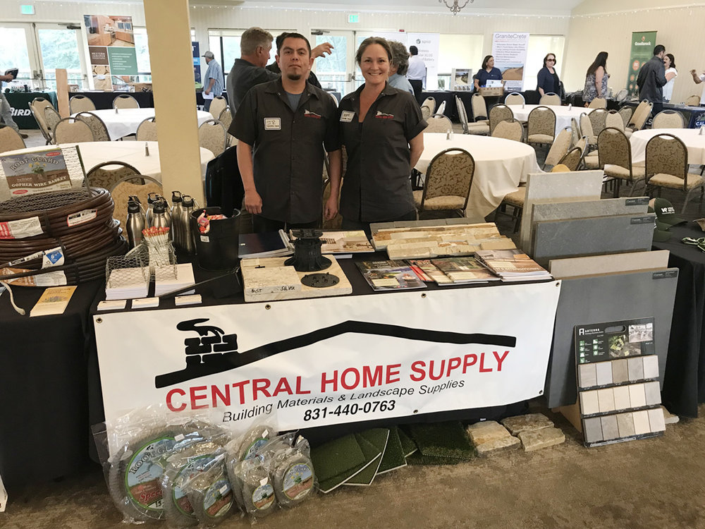 Central Home Supply's Mette and JR