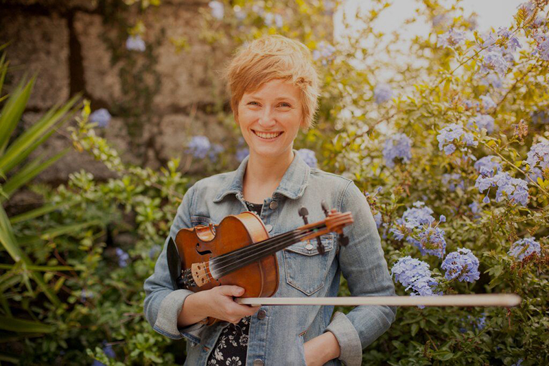 Scottish-style Fiddler, Katie McNally