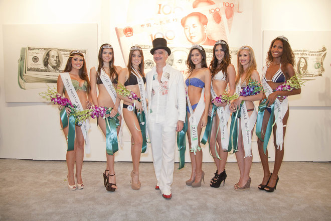 (image via Miami Herald: Kevin Berlin, MISS FOREIGN EXCHANGE INTERNATIONAL, performance, 2011)