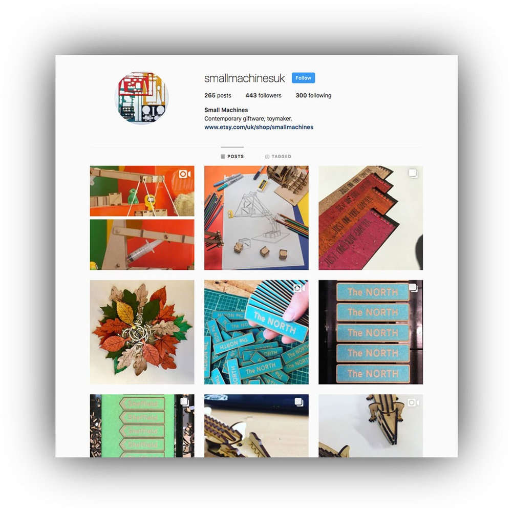 Small Machines Instagram